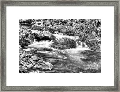 Sol Duc River Framed Print