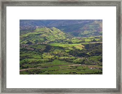 Spain, Cantabria Region, Cantabria Framed Print