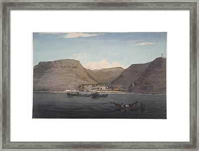 St. Helena Framed Print by British Library