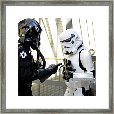 Star Wars Stormtrooper Framed Print