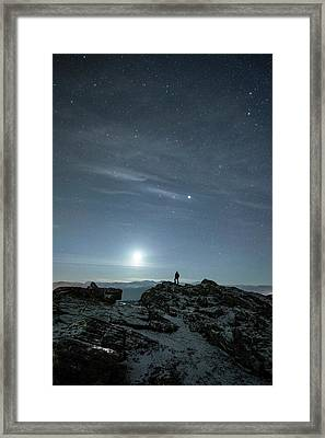 Stargazing Framed Print by Tommy Eliassen