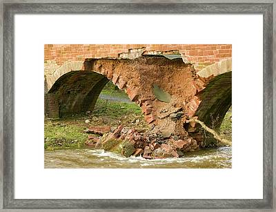 Storm Damage Framed Print by Ashley Cooper