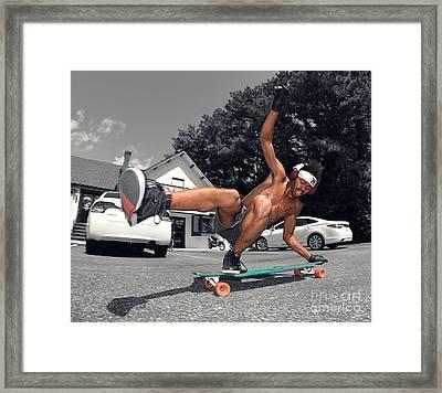 4 Style Framed Print by John Velasquez
