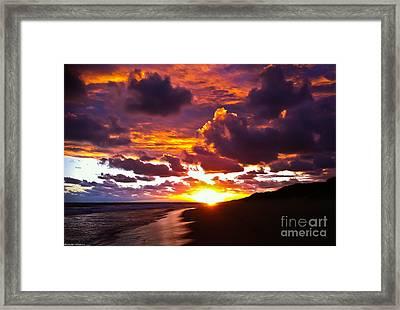 Sunset  Framed Print by Alexander Whadcoat