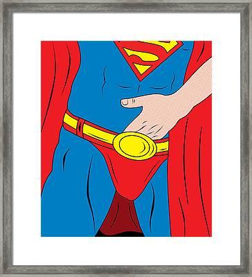 Superman  Framed Print