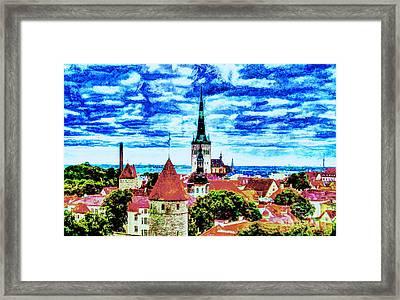Tallinn Estonia Framed Print