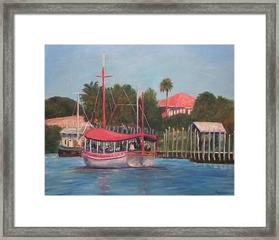 Tarpon Springs Florida Framed Print