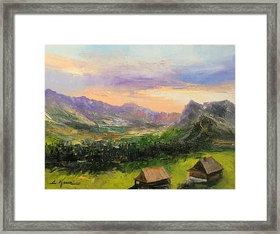 Tatry Mountains- Poland Framed Print