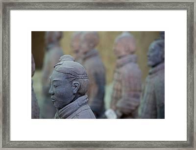 Terracotta Soldiers Unesco World Framed Print by Darrell Gulin