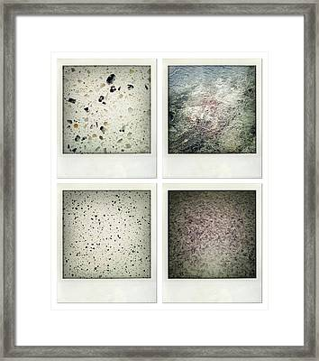 Textures Framed Print by Les Cunliffe