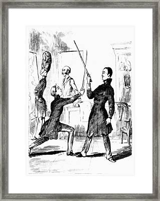 Thackeray Vanity Fair Framed Print by Granger