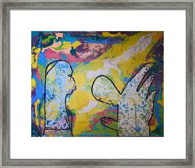 The Annunciation Framed Print