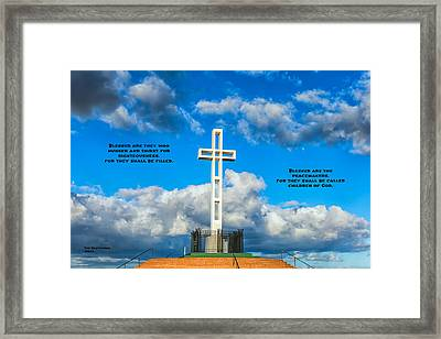 The Beatitudes Framed Print by Joseph S Giacalone