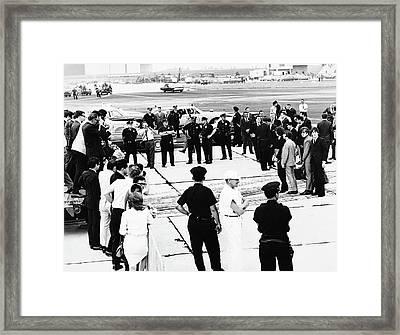 The Beatles, 1965 Framed Print by Granger