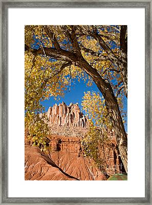 The Castle Capitol Reef National Park Framed Print