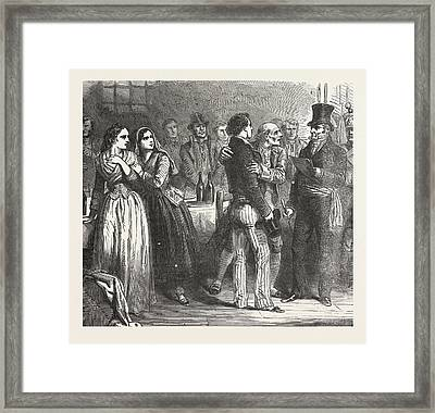 The Count Of Monte Christo Alexandre Dumas, 1844 Framed Print by English School
