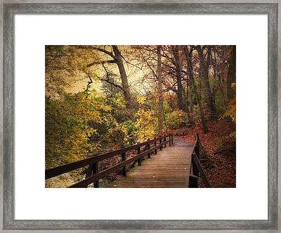 The Crossing Framed Print by Jessica Jenney