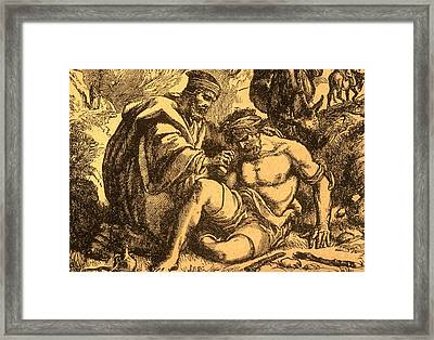 The Good Samaritan Framed Print