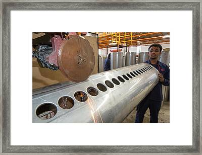 The Kamal Factory In Bangalore Framed Print