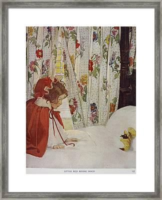 The Now-a-days Fairy Book Framed Print