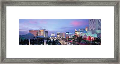 The Strip, Las Vegas, Nevada, Usa Framed Print