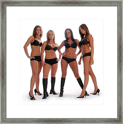 4 Times The Attitude Framed Print
