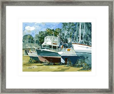 4 To Get Ready Framed Print