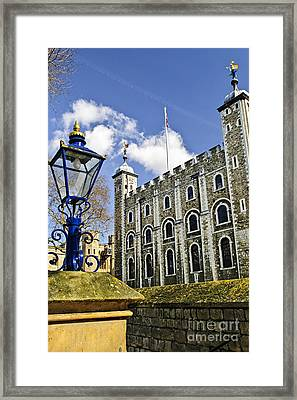 Tower Of London Framed Print by Elena Elisseeva