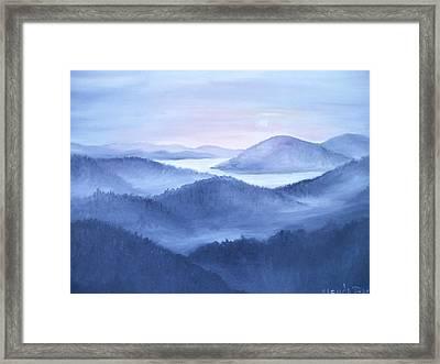 Tranquility Framed Print by Glenda Barrett