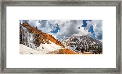 Transfagarasan Highway Framed Print by Gabriela Insuratelu