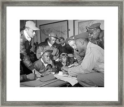 Tuskegee Airmen Framed Print by Retro Images Archive