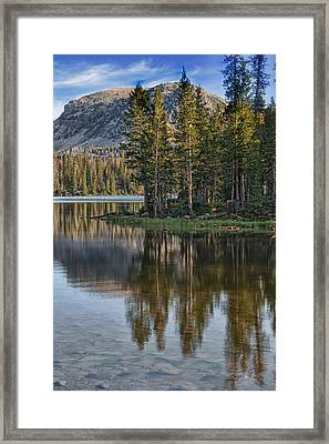 Uinta Mountains Utah Framed Print