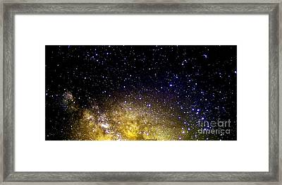 Under The Milky Way Framed Print