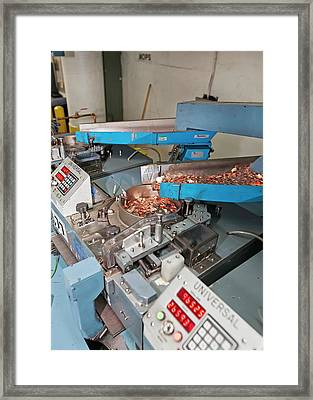 United States Mint Framed Print by Jim West