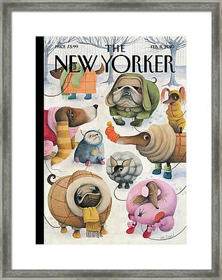 New Yorker February 8th, 2010 Framed Print