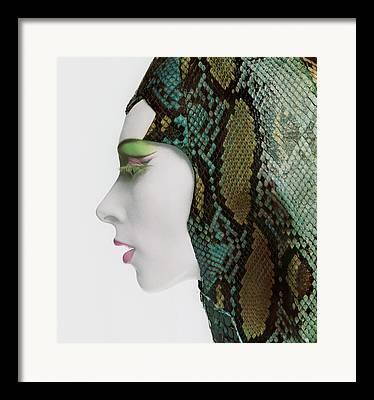 False Eyelashes Framed Prints