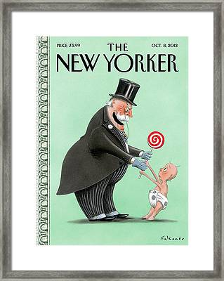 New Yorker October 8th, 2012 Framed Print