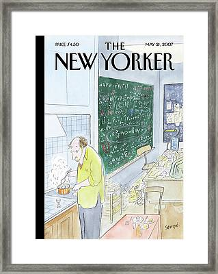New Yorker May 21st, 2007 Framed Print by Jean-Jacques Sempe