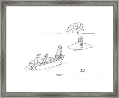 Titleist? Framed Print by Jonny Cohen