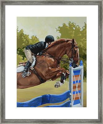 Untitled  Framed Print by Lesley Alexander