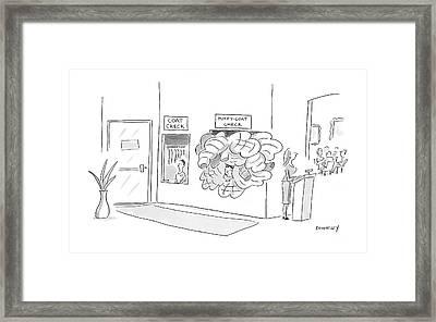 New Yorker January 21st, 2008 Framed Print