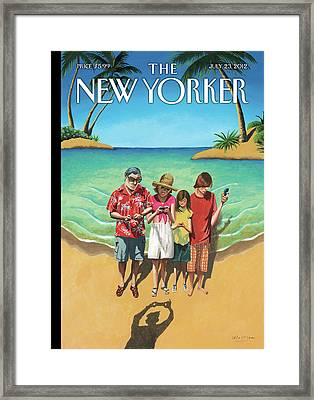 New Yorker July 23rd, 2012 Framed Print by Mark Ulriksen