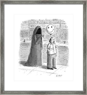 New Yorker September 26th, 2016 Framed Print by Roz Chast
