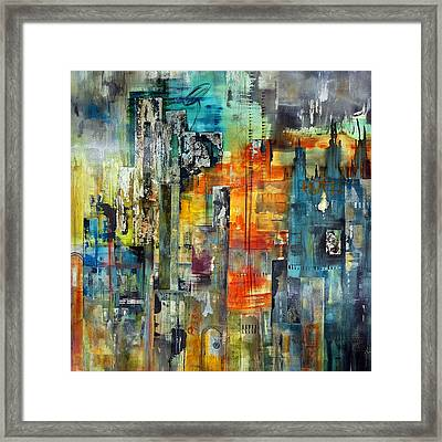 Urban View Framed Print