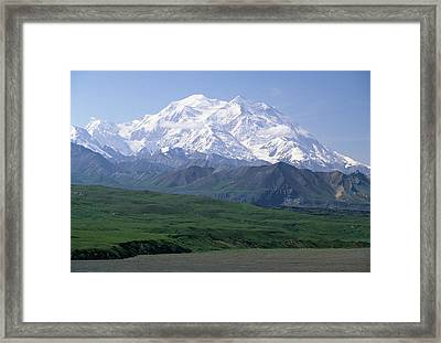 Usa, Alaska, Mount Mckinley, Denali Framed Print by Gerry Reynolds