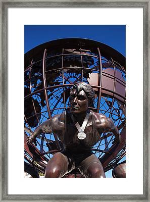 Usa, Colorado, Colorado Springs, United Framed Print by Walter Bibikow
