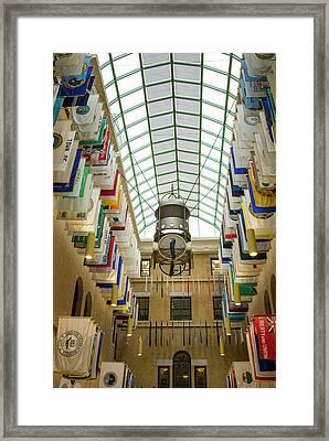 Usa, Massachusetts, Boston Framed Print by Walter Bibikow