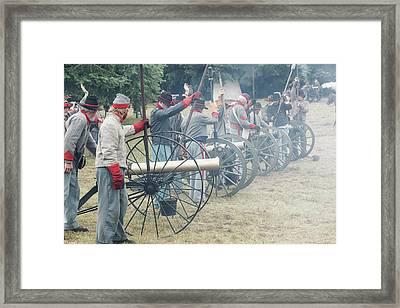 Usa, Oregon, Brooks, Willamette Mission Framed Print by Rick A Brown