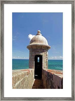 Usa, Puerto Rico, San Juan Framed Print