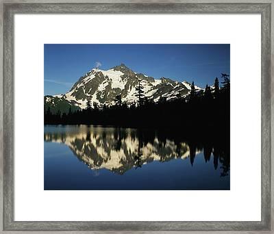 Usa, Washington State, North Cascades Framed Print by Adam Jones